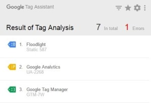google tag assistant recordings